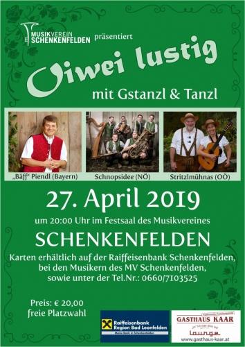 Gstanzl Singen 2019